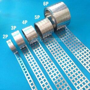 Image 2 - 18650 battery pure nickel strip 2P/3P/4P/5P/6P/8P nickel tab battery spacing 20.2mm Ni belt For 18650 battery 1P/2P/3P holder
