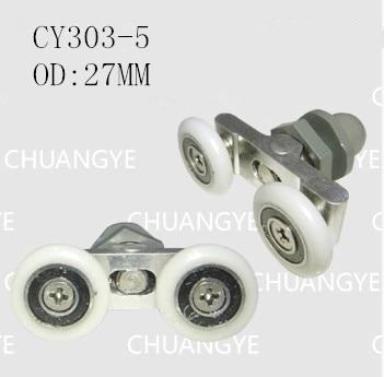 duschtr rollen dusche tr wheels od 27 mm fr glas schiebe - Duschtur Rollen