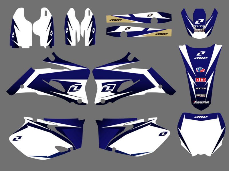 GRAPHICS & BACKGROUNDS DECALS STICKERS Kits For Yamaha YZ250F YZ450F 2006 2007 2008 2009 YZ 250F 450F YZ250 YZ450 F