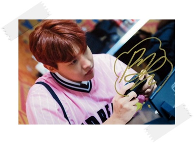 signed BTS J-HOPE autographed  photo LOVE YOURSELF  4*6 inches  freeshipping 102017