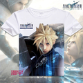 Free Shipping Final Fantasy COOL Anime T Shirt Tee Summer Short Sleeve T-shirt Tops Unisex Cosplay S-XXXL