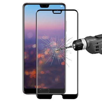ENKAY Hat-Prince for Huawei P20 Pro 0.26mm 9H Surface Hardness 3D Curved Full Screen Bent Tempered Glass Color Screen Protector