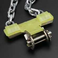 Hot New 1 Pc Auto Car Tire Anti-skid Steel Chain Snow Mud Security Tyre Belt Clip-on String Anti-slip Assembly Tool S/M/L