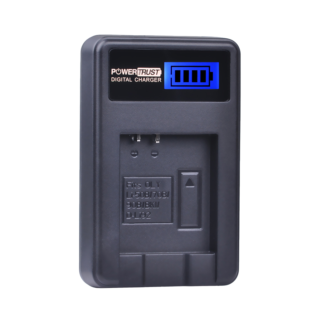 1x LI-90B LI 90B LI90B LI-92B LI-50B LCD USB Battery Charger for Olympus Tough TG-1 iHS TG-2 iHS TG-3 TG-4 SH50 iHS SH60 Camera
