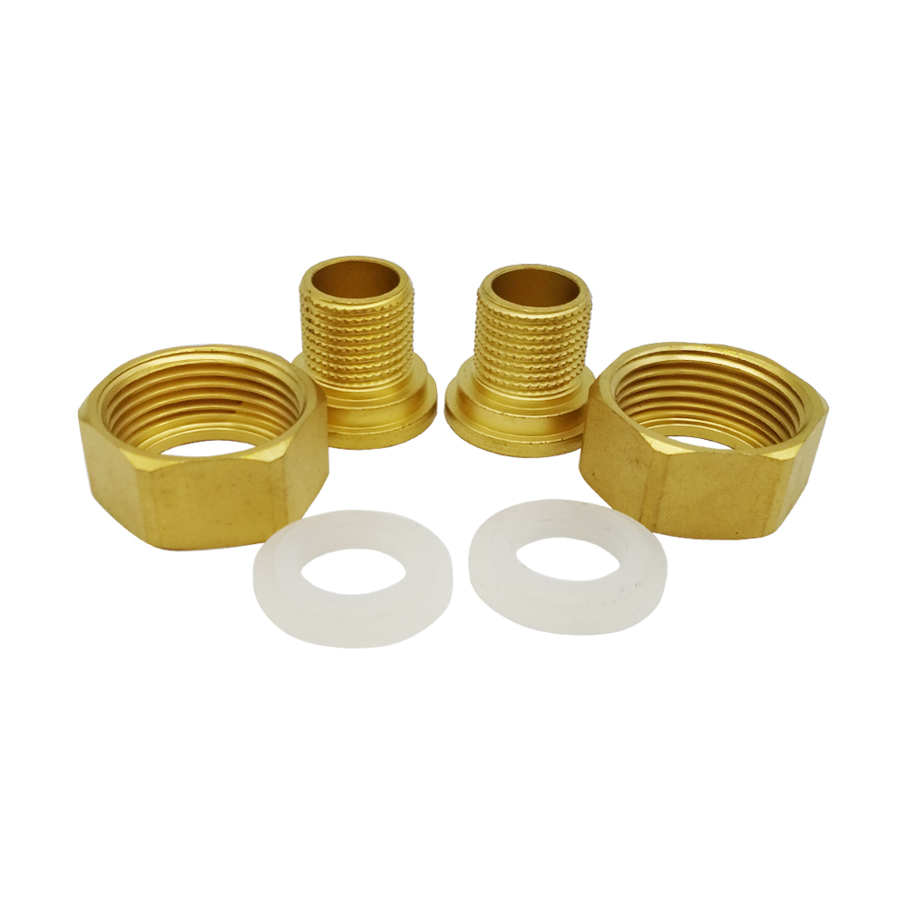1 inch to 1/2 inch 1/2 pipe outer thread Copper connector joint adaptor adapter of Pre filter water purifier clarifier cleaner factory outlets 11 inch one quick connector outlet water purifier to increase ph alkaline common water filter