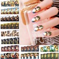 2017 new 12 sheets beauty Nail Art Water Transfer Sticker DIY Nails Accessories manicure tools decals World MONA LISA prints 840
