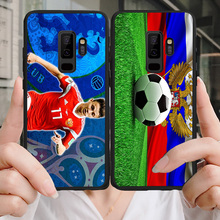 Yinuoda Phone Case For Russian Team Aleksandr Golovin Galaxy Note4 9 A7 A8 2018 Soft TPU Cover Samsung J2Pro J4 J6 J7 Note5
