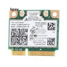IBM Lenovo Thinkpad การ์ด wifi ไร้สาย Intel Wireless ac 7260 7260HMW 867Mbps 802.11 ac Mini PCI E dual band FRU: 04X6090