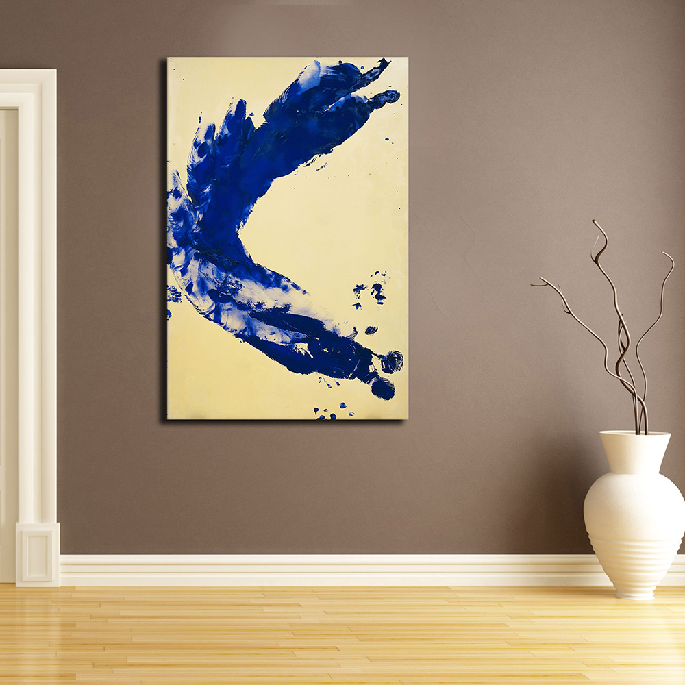 Prints Painting Art Yves Klein Anthropometry Princess Helena Modern Oil Painting Print On Canvas Wall Art Picture For Home Decor