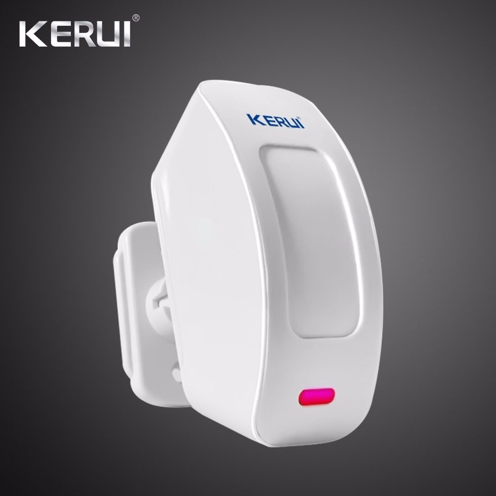 KERUI Wireless Window Curtain Motion Sensor PIR Detector Infraid Sensor Circuit Design 433MHz For Home Alarm System