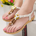 2016 fashion Skid beach women Sandals Summer Beaded Women shoes Sandals