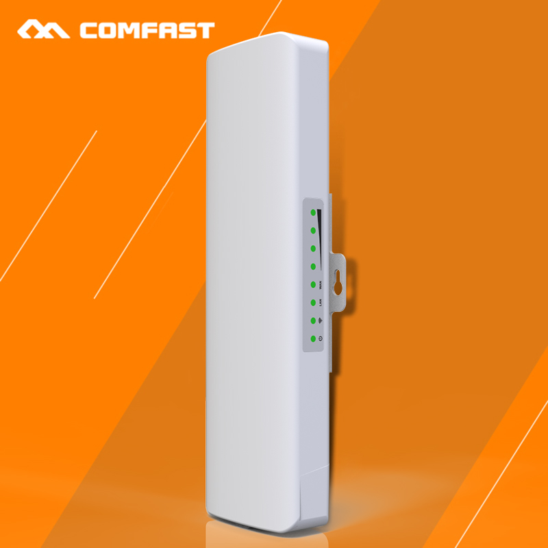 ФОТО COMFAST CF-E314N 300Mbps High Power Outdoor Wireless CPE/ wifi repeater built-in 14dBi antenna for wi-fi Receiver/transmitter