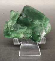 249g Natural Large crystal green fluorite cluster mineral crystal specimens Stones and crystals Healing crystal