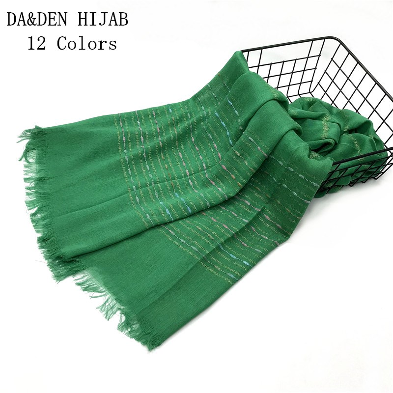 NEW 2019 scarf Solid Tassel women scarves and shawl behemian fashion Muslim hijabs brand muffler wrap