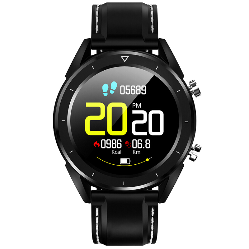 DT28 hommes montre intelligente IP68 étanche montre paiement ECG moniteur de fréquence cardiaque Fitness Tracker bracelet Sport Smartwatch PK Q8 V11