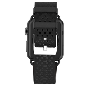 Image 5 - HOCO Correa de cuero genuino para Apple Watch, banda de reloj transpirable para Apple Watch Series 4 3 2 1, correa de reloj para iWatch de 44mm, 42mm, 40mm y 38mm
