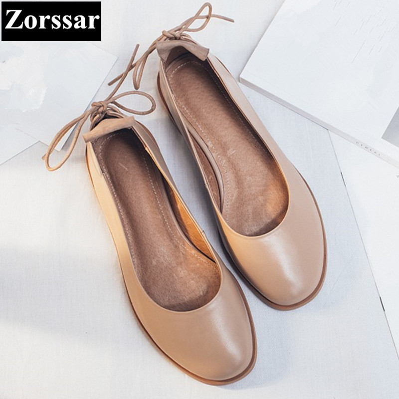 {Zorssar} Women Flats 2017 Summer Style Casual Round Toe Slip-On Flat Shoes Soft Comfortable Shoes Woman Plus Size 34-43 spring summer women flat ol party shoes pointed toe slip on flats ladies loafer shoes comfortable single casual flats size 34 41