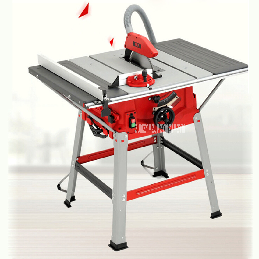 M1H ZP2 250 Multifunction Woodworking Table Saws 10 Inch Sliding Table Saw Push Plate Saw Angle Cut Circular Saw 220V 50HZ 1800W in Saw Machinery from Tools
