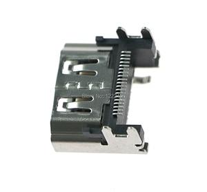 Image 3 - ChengChengDianWan PlayStation 4 Için Ekran HDMI Soket jack konnektörü Için PS4 Slim Pro Konsolu HDMI Bağlantı Noktası 5 adet/grup