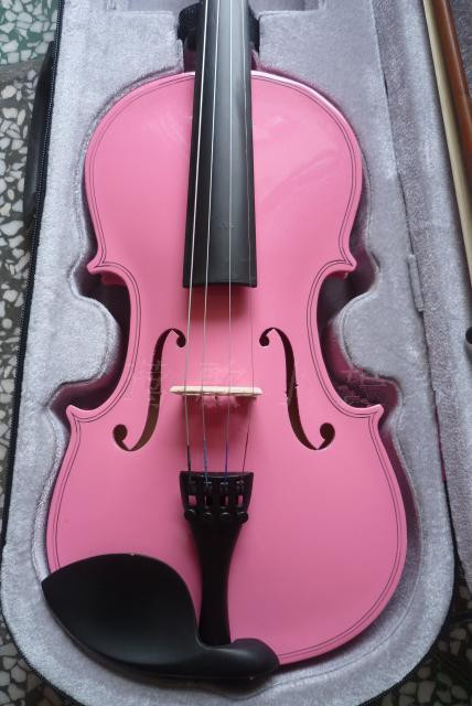 PINK High quality violin 4/4 violin handcraft violino Musical Instruments Free shipping archaize violin 1 8 1 4 1 2 3 4 4 4 violin handcraft violino musical instruments with violin rosin case shoulder rest bow tuner