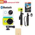 Оригинал xiaomi yi действий камеры путешествия 1080 P 60fps 16MP wifi bluetooth 4.0 смарт водонепроницаемый спорта камера вариант аксессуар