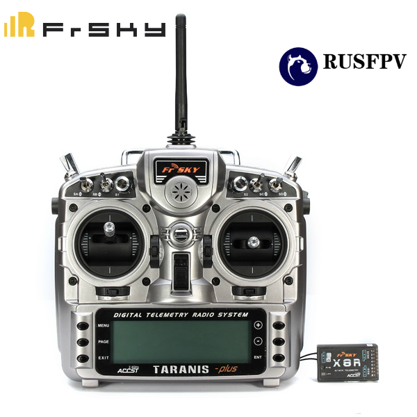 FRSKY 2.4G ACCST Taranis X9D Plus Transmitter for RC Helicopter Fixed-Wing FPV Racing Drone Transmitter Mode 2