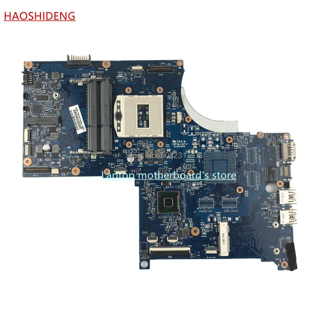HAOSHIDENG 736482-501 736482-001 6050A2563801-MB-A02 for HP ENVY 17-J M7-J laptop motherboard with HM87 PGA947 ,fully Tested 744007 001 744009 001 744016 001 laptop motherboard for hp probook 650 g1 pc mainboard hm87 gm 6050a2566301 mb a03 100% tested