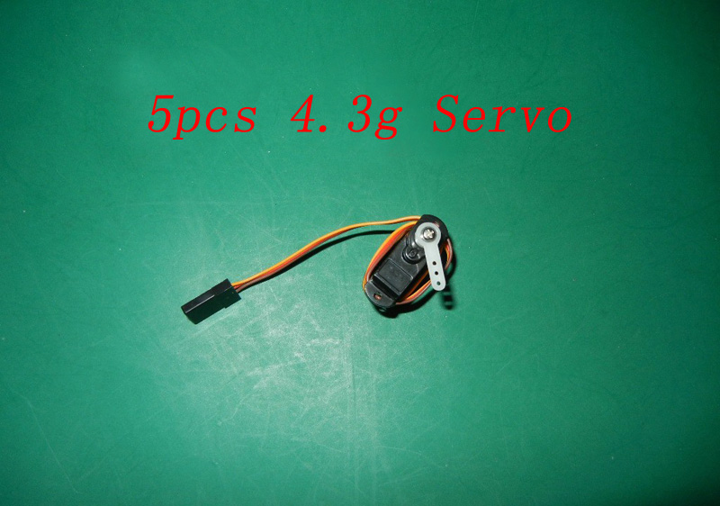 5pcs 4.3G Servo For KT Board RC Airplane Drone Car SU27