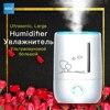 KGV Ultrasonic Mist Maker For Home Yoga Air Purifier Nano Steamer Steam Maker Essential Spa Fragrance