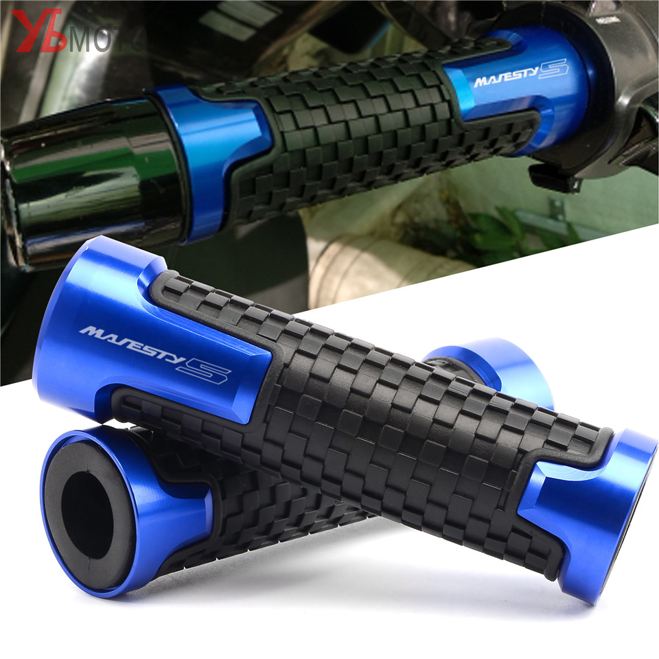 Motorcycle Anti-Skid Handlebar Grips For YAMAHA YP 150/250/400 GRAND/MAJESTY/XENEER XC155 TMAX530 T-MAX Aluminum+ Rubber Cover