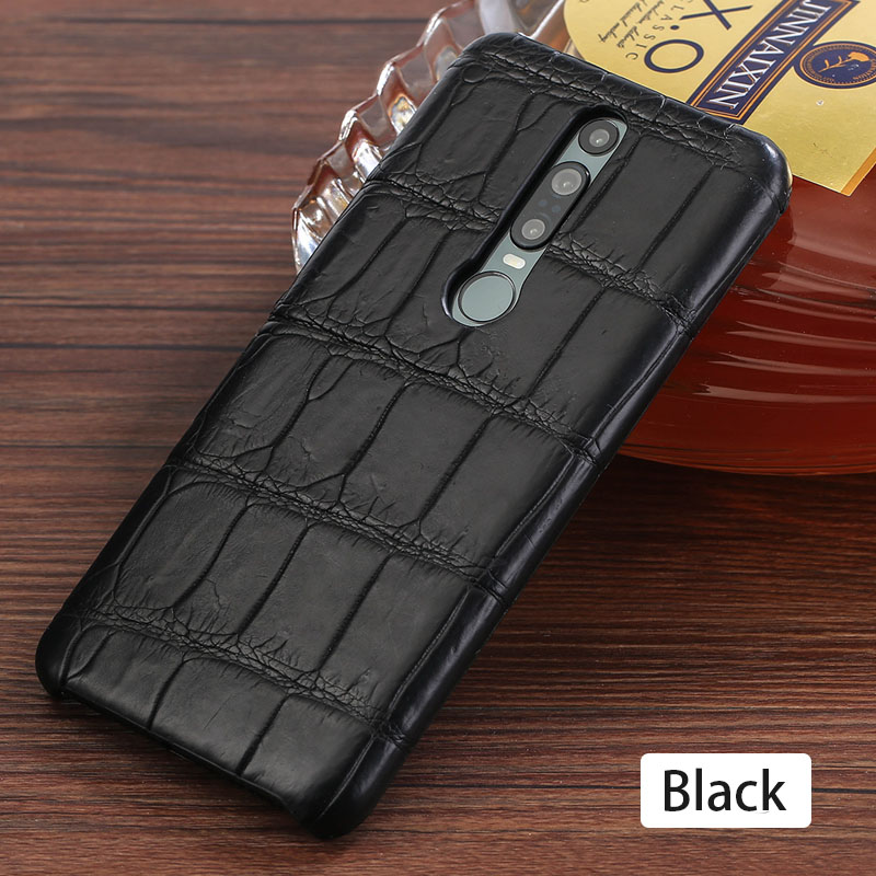Genuine Crocodile Leather luxury cell phone case for Huawei Mate 20 30 P20 P30 Pro Lite Cover For Honor 20 Pro 10 10i v20 8x 9X - 5