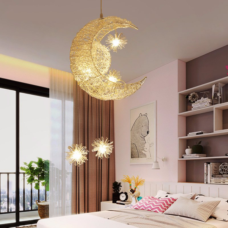 Galleon - Night Lights For Girls, ZHOPPY Star And Moon ...