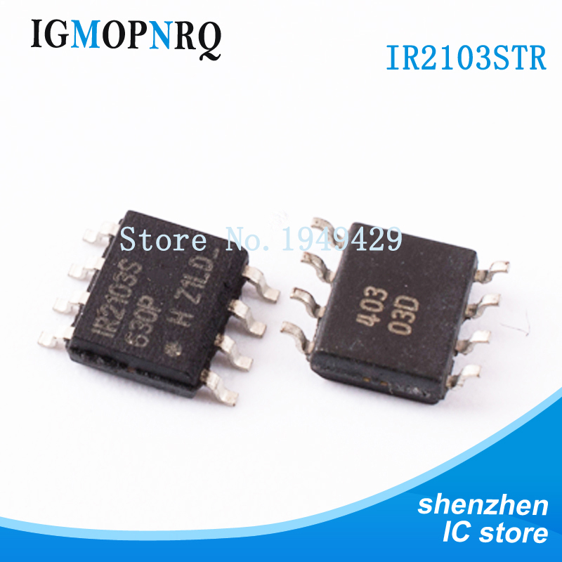 10PCS IR2103STRPBF SOP8 IR2103S <font><b>IR2103</b></font> Door drive Half Bridge Driver 520ns new original free shipping image