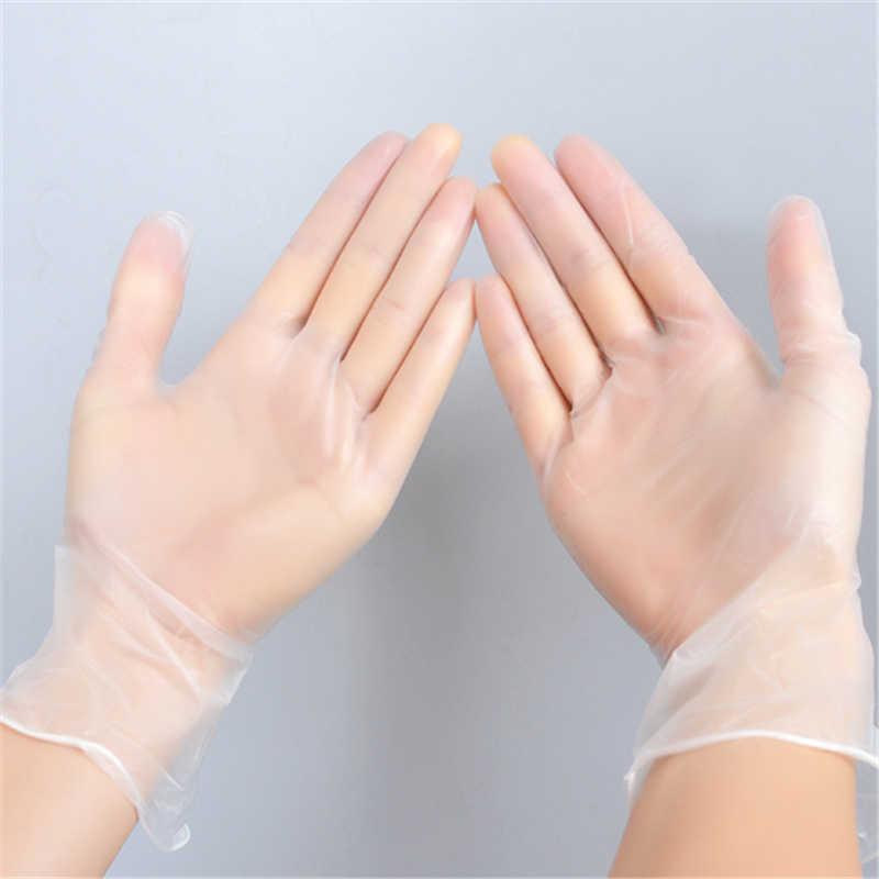 10pcs Lot Cheap Thin Latex Disposable Gloves Waterproof Rukavice for  Laundry Dishwashing 6eff84c216