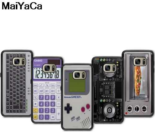 Фото MaiYaCa игровой мальчик DJ деки калькулятор колонки микроволновая печь для iPhone 5S 6 S XR