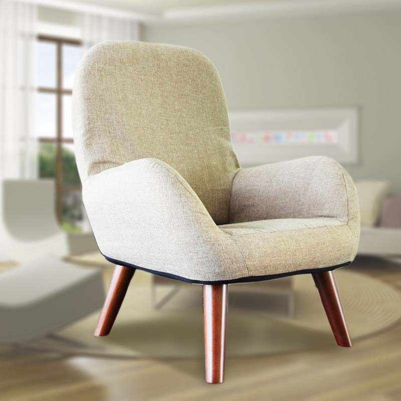 Chpermore Comfortable lazy sofa Simple mini rural wind patchwork personality Living room leisure sofa Pregnant woman adult chair