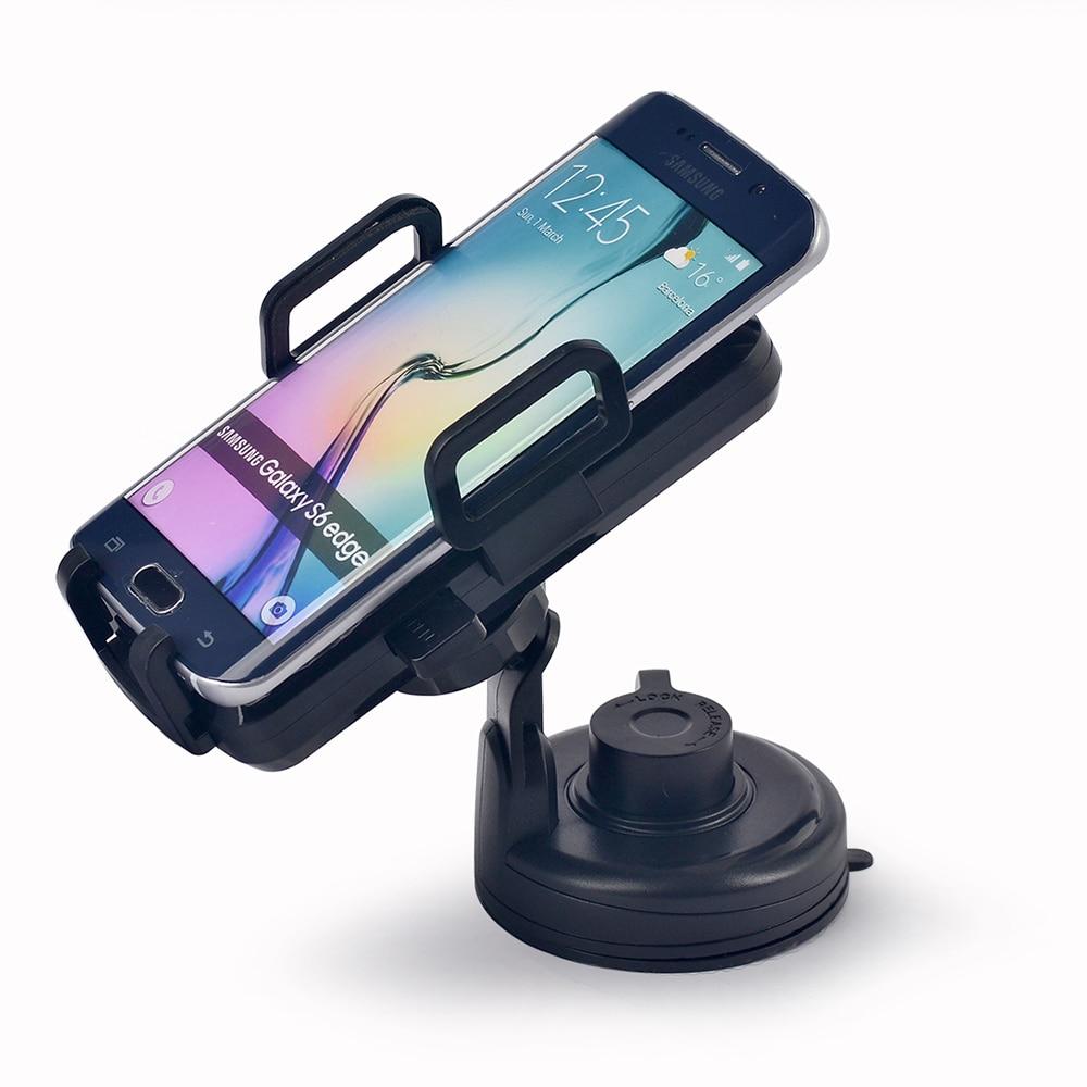 Itian Qi voiture support pour chargeur sans fil support téléphone sans fil chargeur de voiture pour Samsung S8/S8 +/S7/S7 edge/Note5/S6 chargeur de voiture