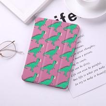 Cartoon Dinosaur Flip Case For iPad Mini 5 4 3 2 1 Tablet Case Cover for iPad Mini 1 2 3 PU Leather Protect Skin