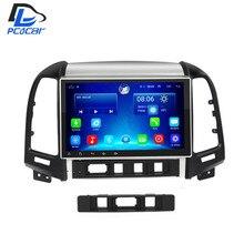 2G 32G optional android 6.0 car gps multimedia video radio player in dash for HYUNDAI Santa fe 2005-2012 year navigation stereo