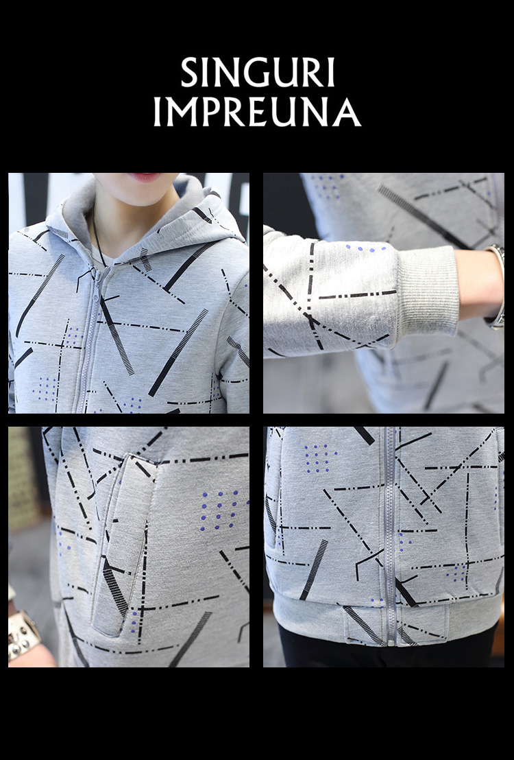 Jackets Men Korean Style Casual Males Coat Students Slim Fit Mens Printed Long Sleeve High Quality Comfortable Ulzzang Daily 36