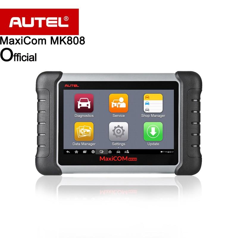 Autel MaxiCOM MK808 Automotive Scanner IMMO/EPB/SAS/BMS/TPMS/DPF Service (MD802+MaxiCheck Pro) Better than EU908