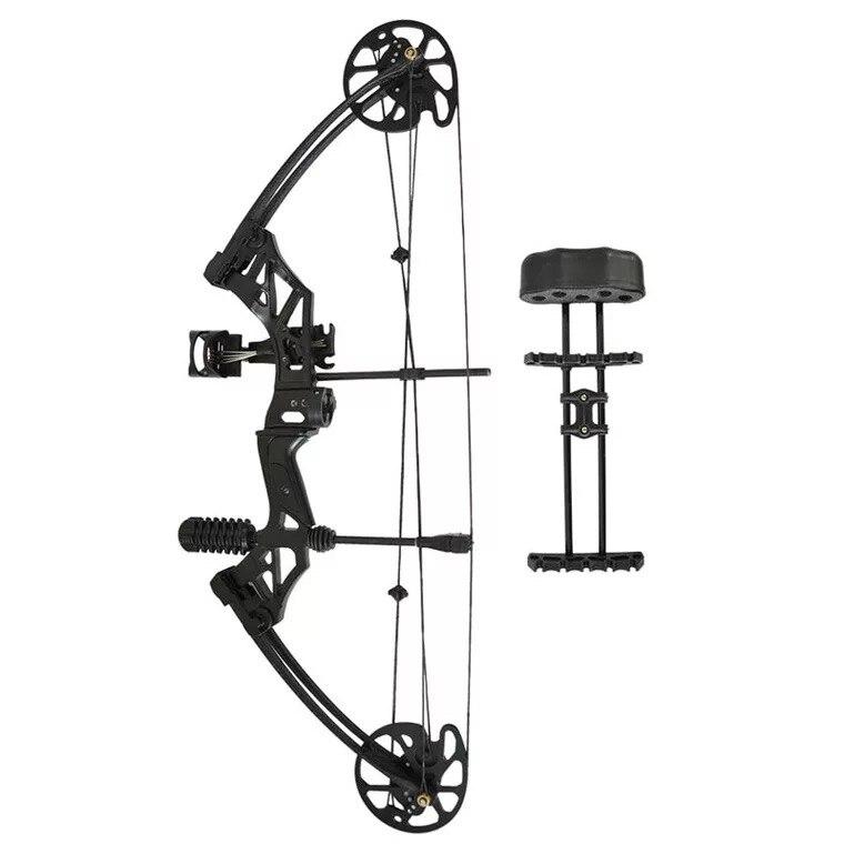Ensembles d'arc et de flèche à poulie composée 30-70 lbs réglable chasse à l'arc Sports de plein air chasse tir - 3
