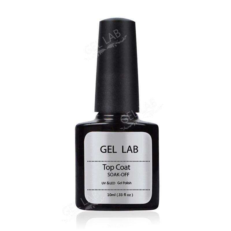 Blue Velvet 10ml Top Coat For Nails Gel Nail Polish Long