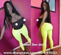 160 см Одежда высшего качества черный Секс кукла с большой AS и Hollow груди, силикона реальные куклы реалистичные влагалище сексуальные Игрушеч