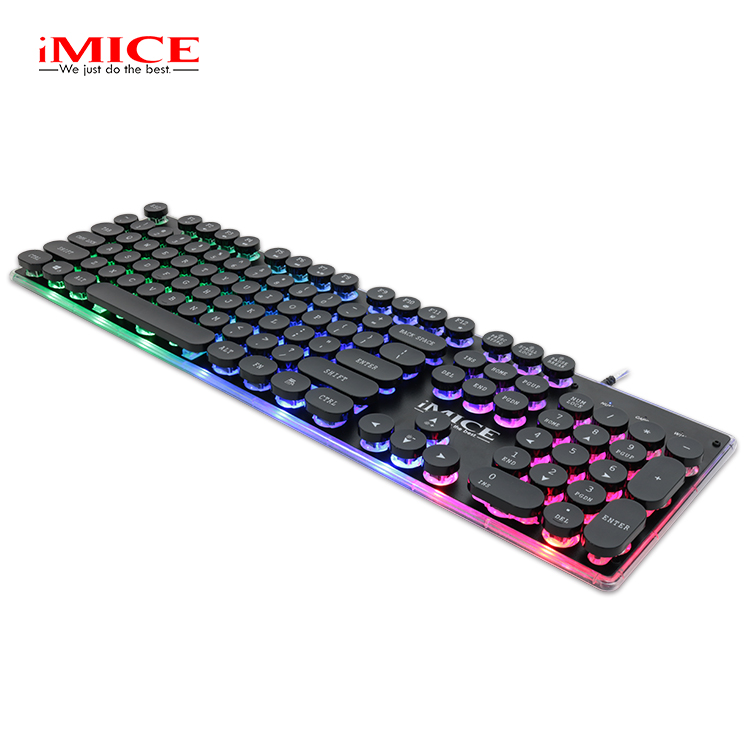 iMice Gaming Keyboard Steam Punk 104 Keys Backlit Keyboards Wired USB Waterproof Mechanical Feeling Steam Punk Gamer Keyboard древпром табурет древпром скалли жемчуг rjlkthq