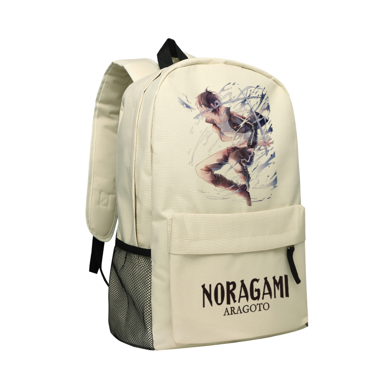 Japanese Anime Noragami Aragoto Backpack Cool YATO School Bag for Boys High School Students Schoolbag Daypack Men noragami anime yato bishamonten japanese rubber keychain