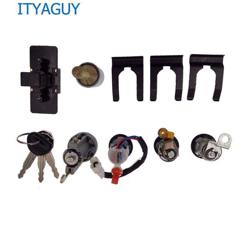 MR259111 For M*itsubishi P*AJERO M*ONTERO II 2nd V32 4G54 Lock Cylinder And Key Set