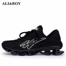 6a5eeff4048f Men s Running Shoes Springblade Sneakers Cushioning Outdoor Sport Shoes For  Men Lightweight Athletic Shoes Male Plus