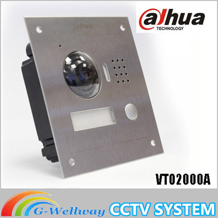 DH VTO2000A IP Metal Villa Outdoor Station Video Door Phone Brand POE P2P Metal Villa Outdoor Station Video Door bell original 7 inch touch screen brand vth1510ch color monitor with vto2000a outdoor ip metal villa outdoor video intercom sysytem