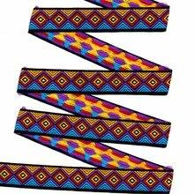 ZERZEEMOOY 1 inch 25mm 10yard/lots 100% polyester geometry Jacquard ribbon high quality DIY handmade lace